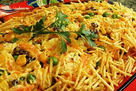 Salpicao de Frango (Brazilian Chicken salad) – Let's Cook Something