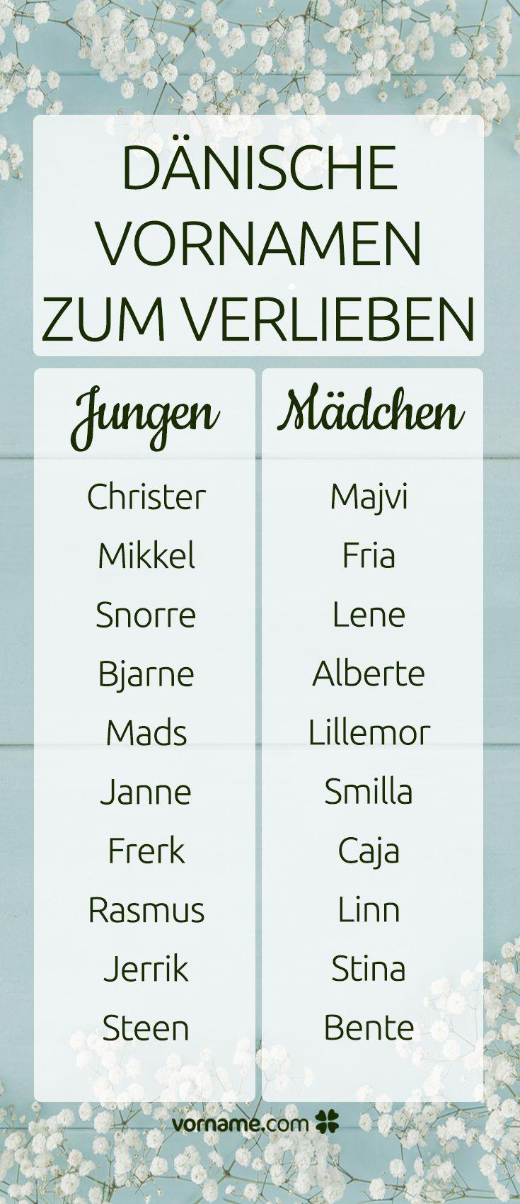 Diese dänischen Vornamen für Jungen und Mädchen sind wirklich zum Verlieben!