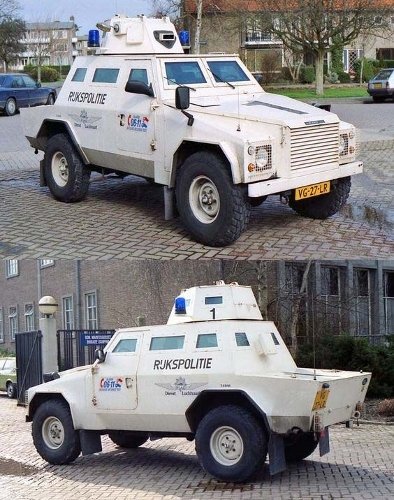 1978 Landrover Shorland Mk III Armoured Patrol - Rijkspolitie - Pays-Bas