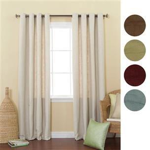Cortinas de lona en diferentes colores, lisas y muy elegantes para espacios contemporáneos