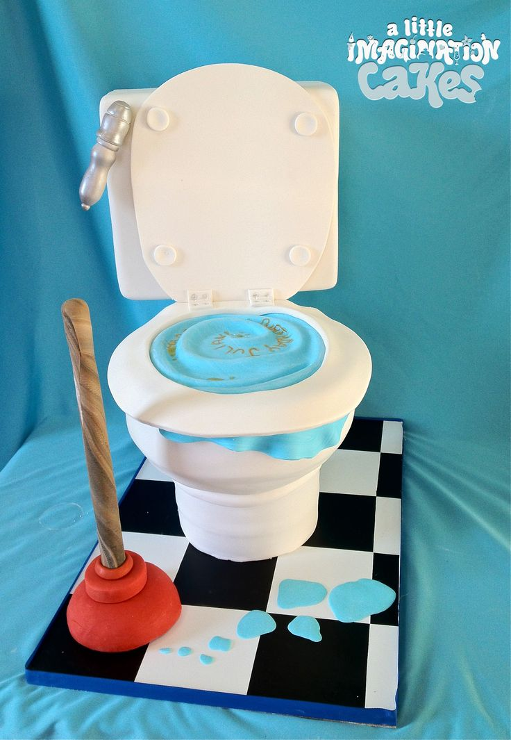 Toilet Cake by A Little Imagination Cakes