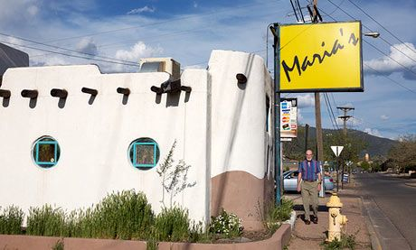 Top 10 restaurants and cafes in Santa Fe, New Mexico!