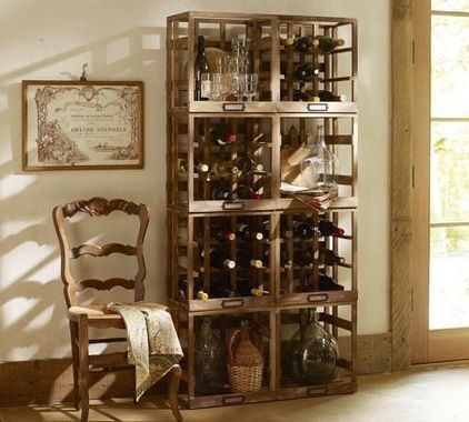 Delightful Restoration Hardware Wine Rack Design For Your Stunning Decoration Interior Home Ideas: Scenic Eclectic Wine Racks With Rustic Wooden Style And Classic Wooden Chair On Stunning Laminated Flooring Ideas ~ kidlark.com Architecture Inspiration