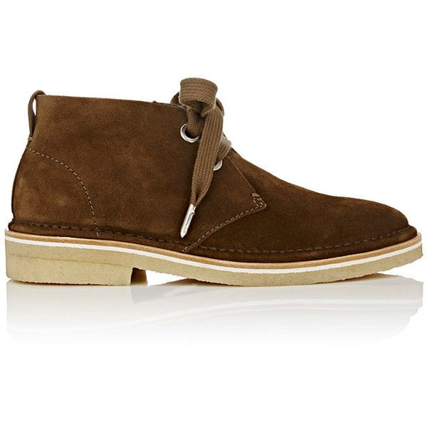 Rag & Bone Women's Chukka Boots (2,660 CNY) ❤ liked on Polyvore featuring shoes, boots, ankle booties, ankle boots, green, green ankle boots, low heel bootie, leather ankle boots, short heel boots and chukka boots