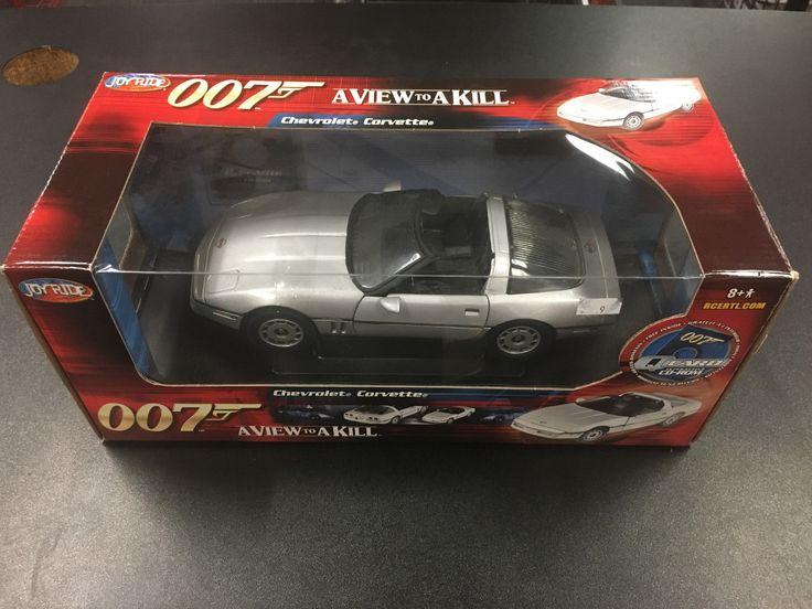 007 A View To A Kill Chevrolet Corvette Joy Ride Toys