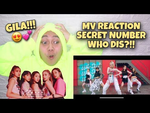 """MV REACTION #115 - SECRET NUMBER """"WHO DIS?"""" INA REACTION - YouTube in 2020 