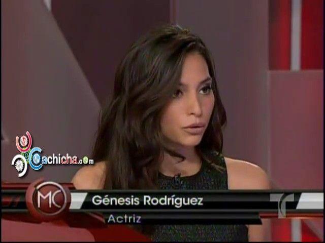 Entrevista a La Actríz Génesis Rodríguez #Video