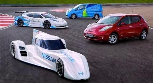 Nissan sortira 5 voitures électriques avec recharge sans fils