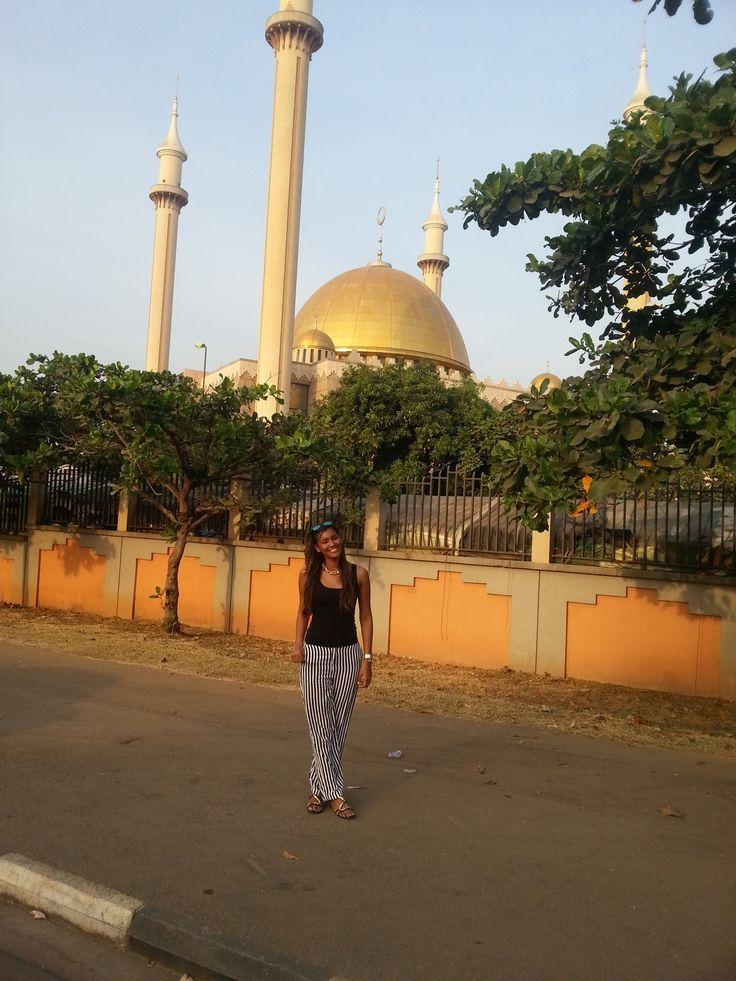 In a Mosque Abuya Nigeria. Astrid Caballero 2013