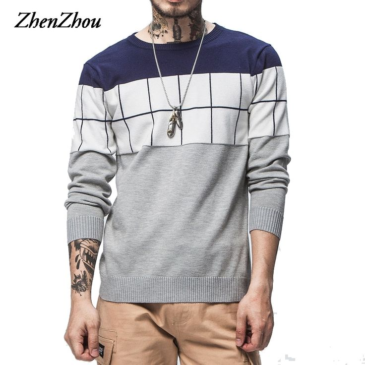Plaid Sweater Men 2017 New Fashion Winter Jumper For Man Pullover Pull Homme Mens Sweater Plus Size M-4XL 5XL High Quality. Yesterday's price: US $20.99 (17.20 EUR). Today's price: US $18.26 (14.93 EUR). Discount: 13%.