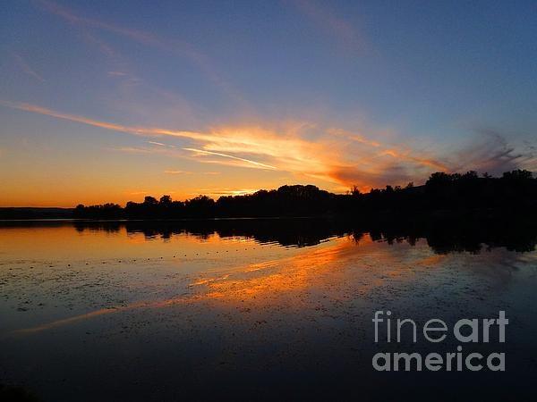 lake in dusk: Lakes, Dusk, Photography