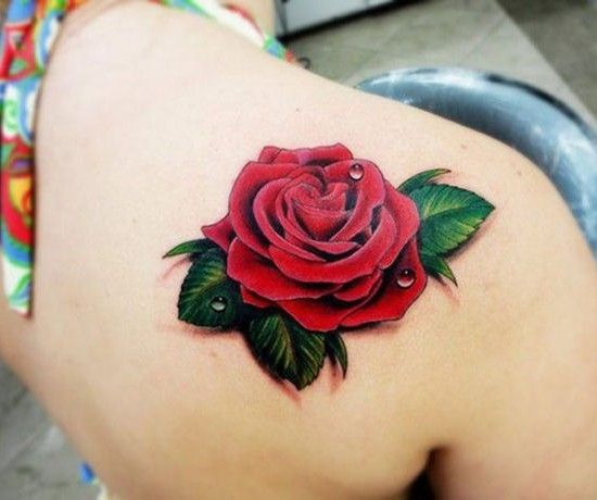 Rose Tattoos With Words Google Search: 17 Best Ideas About Shoulder Blade Tattoos On Pinterest