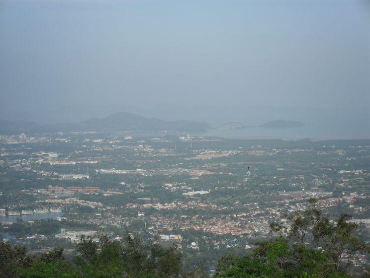 The Big Buddha offers a 360 degree view of Phuket Town, Kata, Karon beaches, Chalong Bay and more.