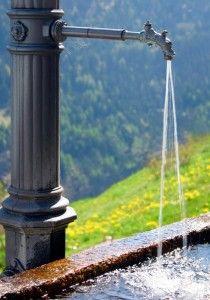 Air bersih sehat dengan alat penyaring a…