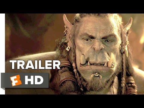 Warcraft Official Trailer #1 (2016) - Travis Fimmel, Dominic Cooper Movie HD - YouTube