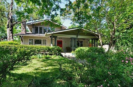 Thursday three hundred a craftsman bungalow in hollywood for Craftsman style homes dfw