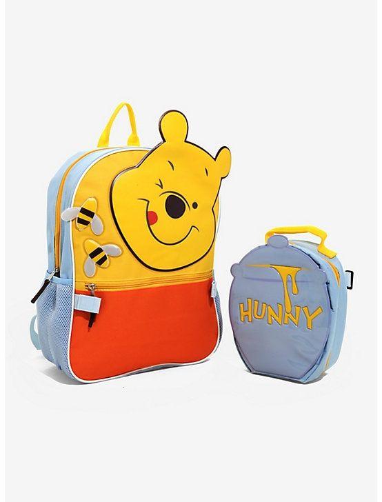 8763d7de6e38 Disney Winnie The Pooh Backpack & Lunch Bag Set, | Pooh Bear <3 ...