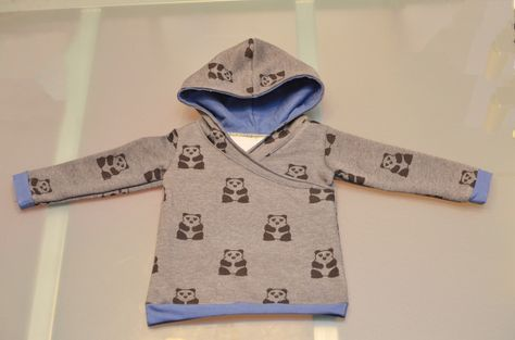 wrap hoodie, would need to alter the pattern size up for my girls but interesting challenge