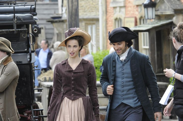 A break during filming Poldark in the remodelled Wiltshire town that doubles as Truro in the series.http://www.bhctours.co.uk/index.php/our-tours/poldark-tour