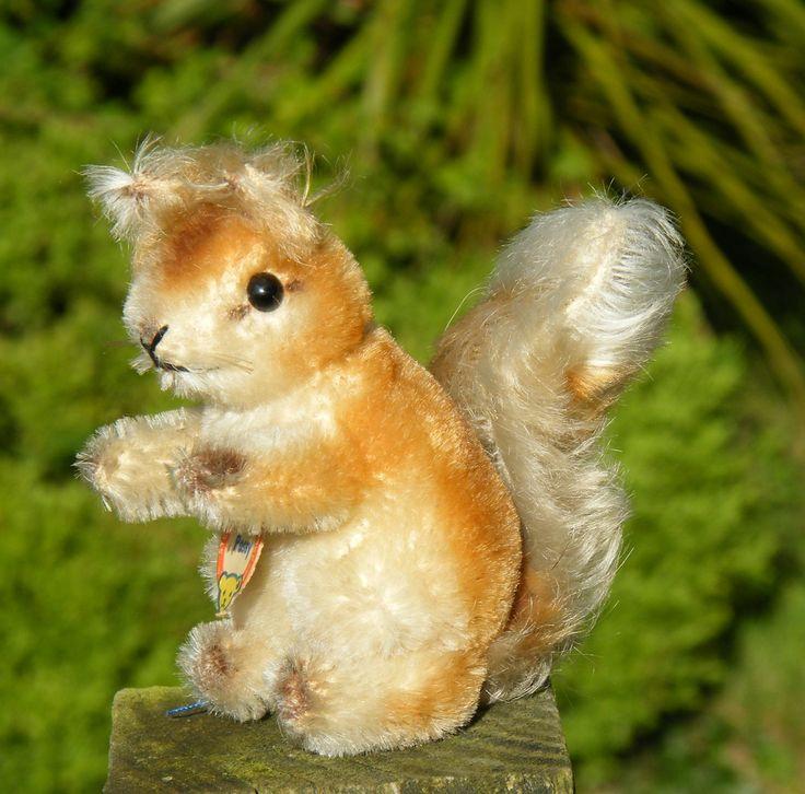 Old Steiff Squirrel