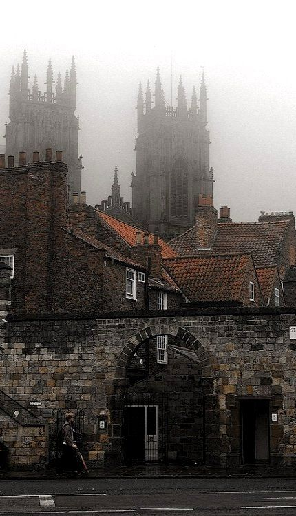 Cathedrals in the mist.. York, England