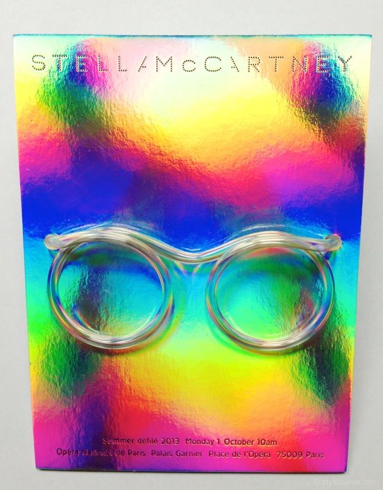 Stella McCartney Spring Summer 2013 Invitation