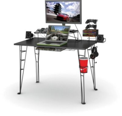 Staples®. has the Atlantic Gaming Desk, Black you need for home office or business. FREE delivery on all orders over $45, plus Rewards Members get 5 percent back on everything!