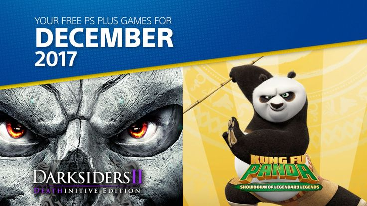 PlayStation Plus: Free Games for December 2017