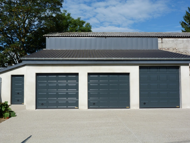 Best 25 sectional garage doors ideas on pinterest for Garage ad france