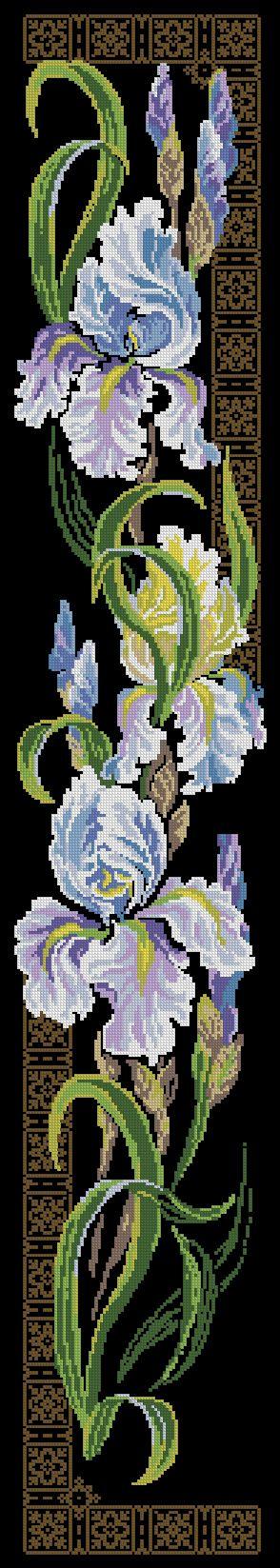 Скачать схемы вышивки Флора