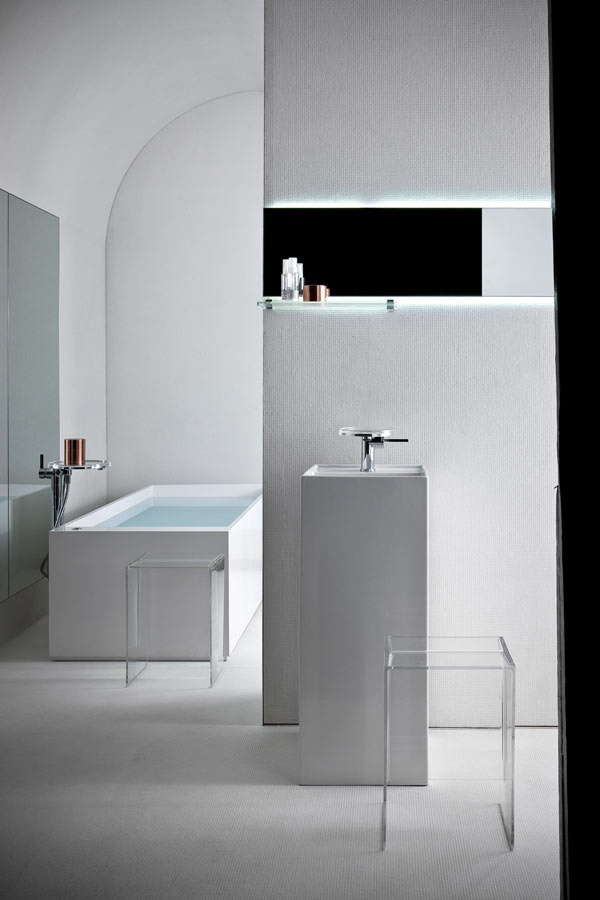 laufen bathroom furniture. Love This Slick Design, But Too Austere For A Space That\u0027s Supposed To Be Relaxing. Maybe As An Art Gallery Kartell By Laufen: Bathroom Collection Laufen Furniture