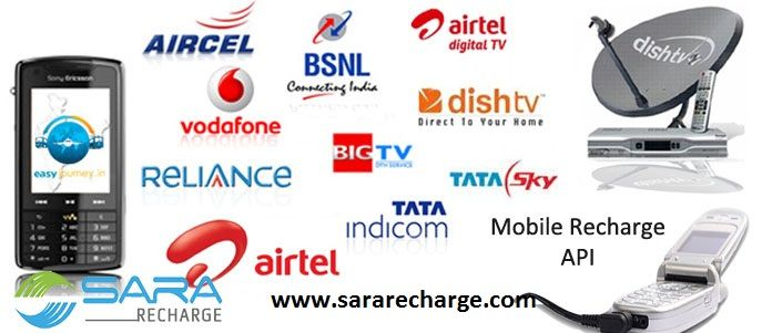 All Types of Recharge Done by Sara Recharge