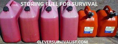 Storing & Reducing Price of Gasoline, Find Gas in Fuel Shortage - Tanks for Survival