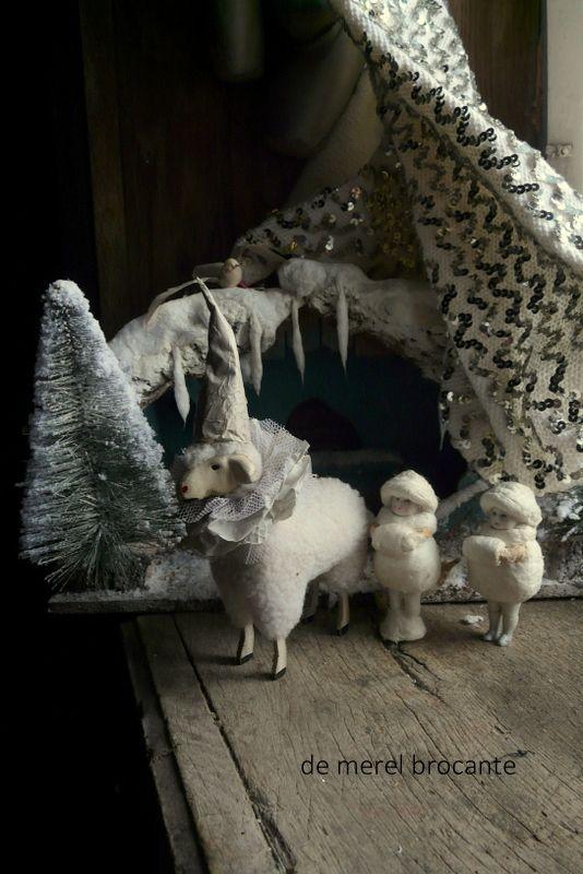 spun cotton christmas decoration                                                                                                                                                                                 More