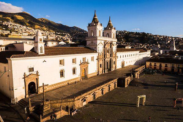 Casa Gangotena, the best sunrise view in Quito?  #Casagangotena #Quito #Ecuador @CasaGangotena