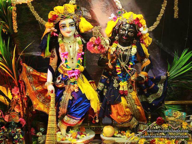 Sri Sri Krishna Balaram Wallpaper   Click here to get more sizes...http://harekrishnawallpapers.com/sri-sri-krishna-balaram-iskcon-punjabi-bagh-wallpaper-002/   TO SUBSCRIBE: http://harekrishnacalendar.com/subscribe