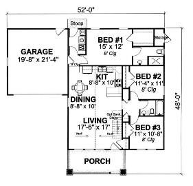 Small cottage house plans for you to dream, plan and build. Come and see the possibilities!