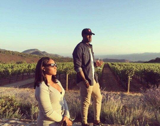 LeBron James With Wife Savannah Brinson-James