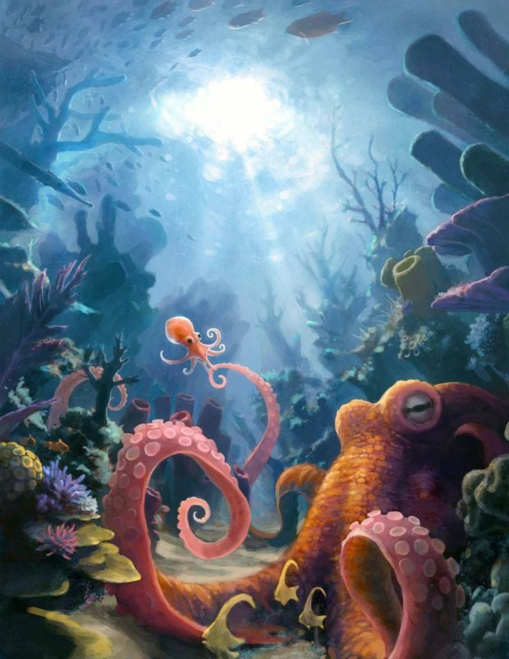 Octopus Mother by Jonah Lobe
