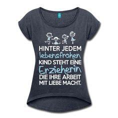 Erzieherin mit Liebe T-Shirt | Erzieherinnen