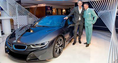 BMW i & Lapo Elkans Garage Italia Zoll zeigen i3 & i8 CrossFade Projekte In Paris BMW BMW i BMW i3 BMW i8 Galleries Paris Auto Show Tuning