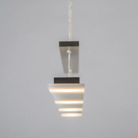 Lampa wisząca Flat stal #designlampa #nowoczesnelampy #lampyled