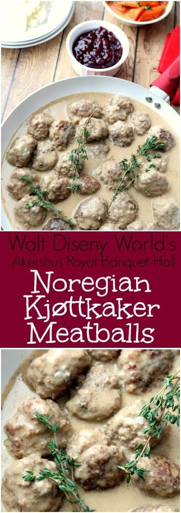Noregian Kjøttkaker Meatballs are tender and delicious. Serve with mashed potatoes, seasonal vegetables and Lingonberry jam for a Norwegian dinner at home.