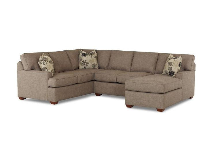 Klaussner Living Room Pantego Sectional K51460 FAB SECT