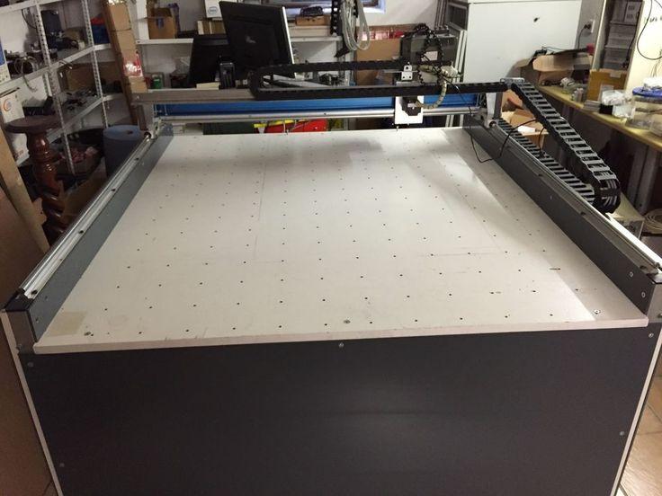 3D CNC Fräsmaschine 1200 x 1100 mit Steuerung und Vakuumtisch in Business & Industrie, Metallbearbeitung & Schlosser., Maschinen   eBay