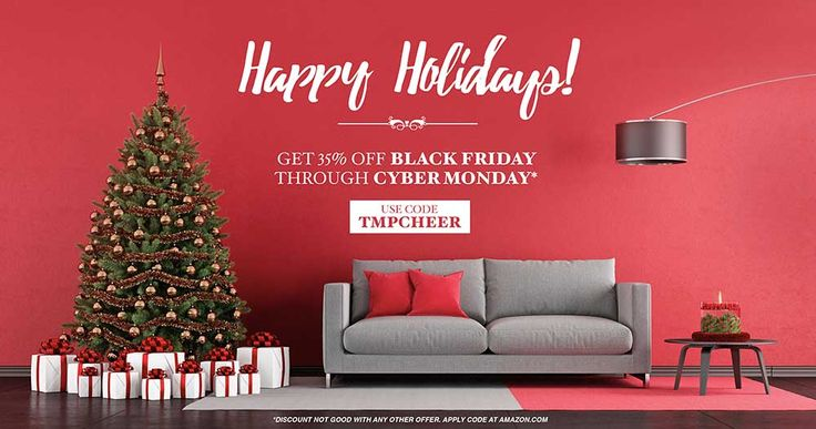 Tomorrow is your last chance to get all TemPAINT products 35% off at tempaint.com. Happy Holidays!  #TemPAINT #Holiday #Holidays #Discounts #CyberMonday #BlackFriday #Christmas #Giving #Chanukkah #Gifts #Color #Paint #College #Dorms
