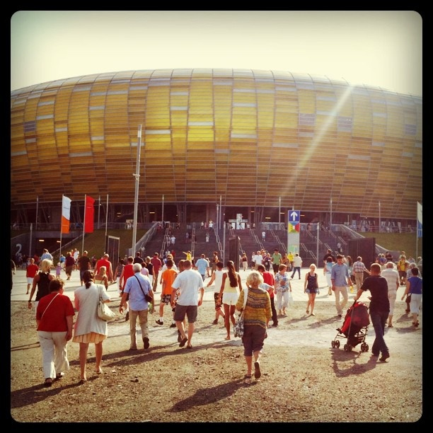 #Euro2012 Football Stadium - #PGEArena #Gdansk outside
