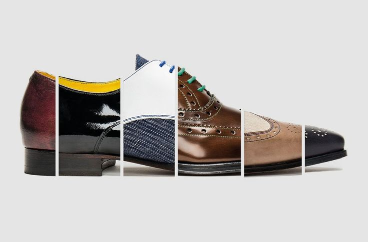 Undandy's innovative website means you can now customise<br> your own bespoke shoes