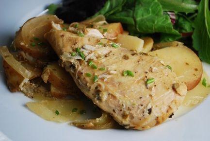 Slow Cooker Chicken Dijon Recipe