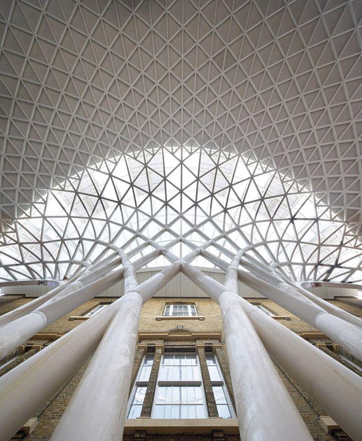 John McAslan + Partners: King's Cross Station redevelopment: Structure, Train Station, London, John Mcaslan, Crosses, Architecture